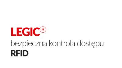 LEGIC® bezpieczna kontrola dostępu RFID